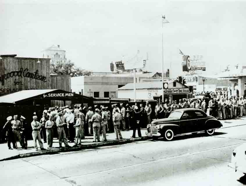 Grand opening photo of Hollywood Canteen