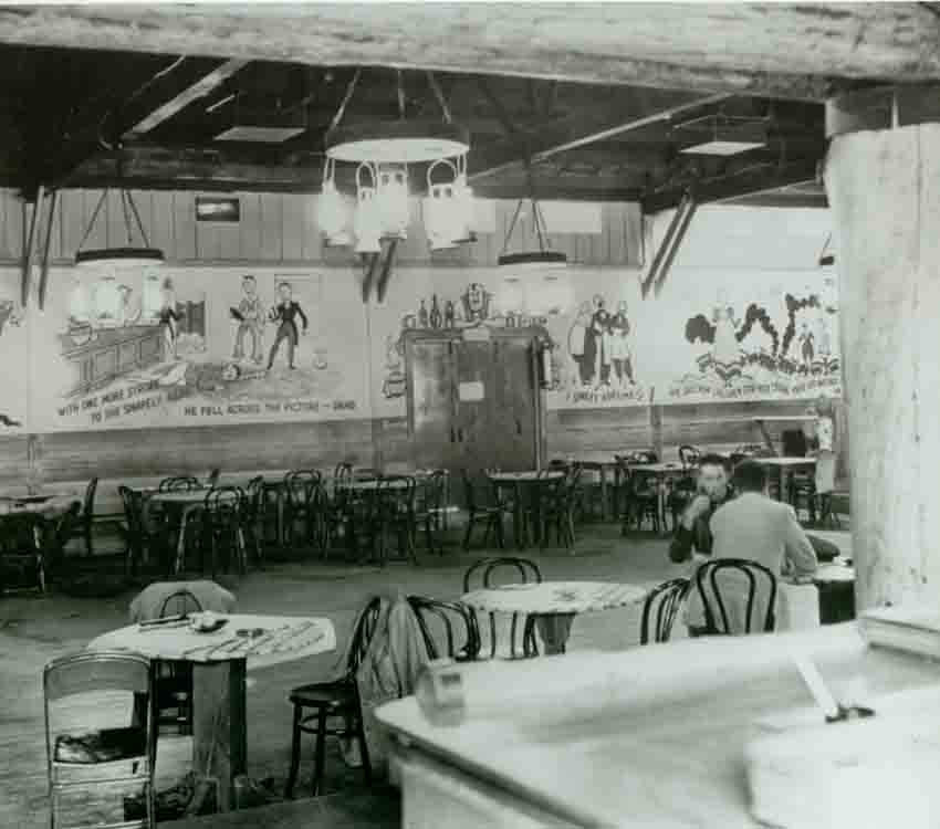 Photo of the Main room at the Hollywood Canteen