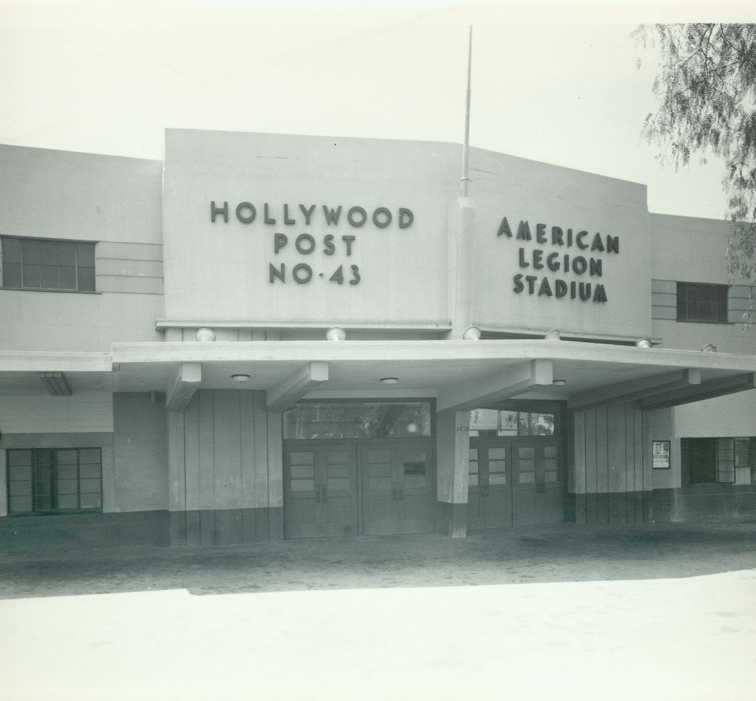 Exterior of Hollywood Legion Stadium