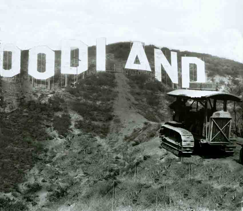 Historic Hollywoodland Sign photo