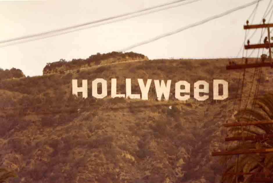 Vintage Hollywood Sign Photos