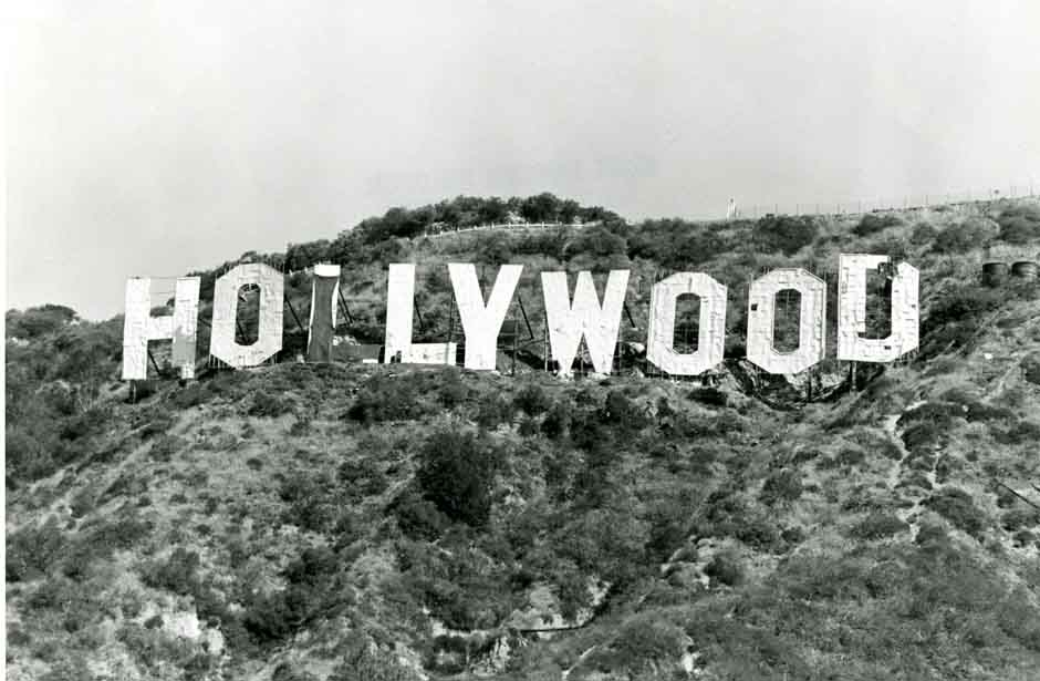 The Next Time Sign Was Altered Also In 1976 By Danny Finegood Changed To Read HOLYWOOD Which Coincided With