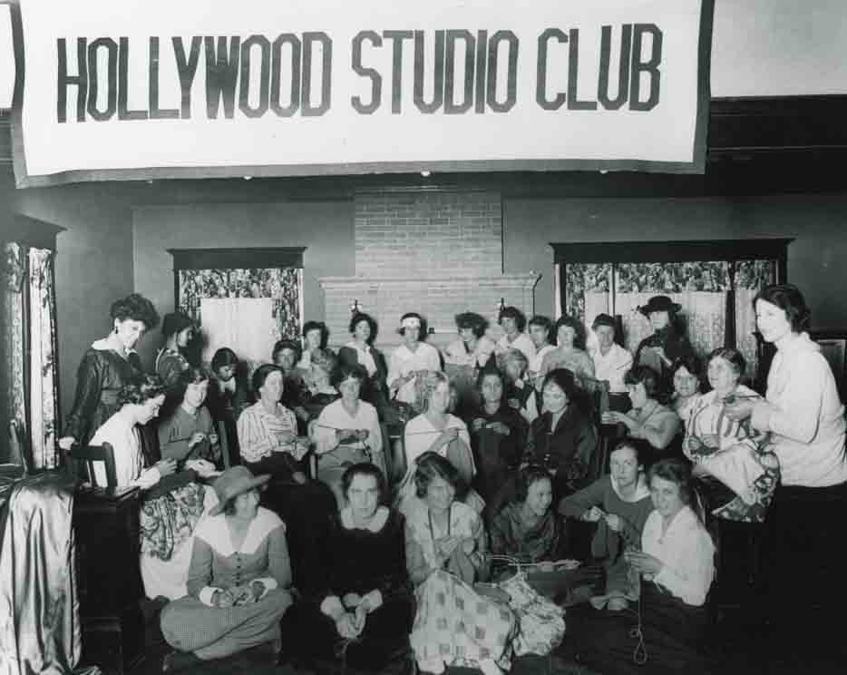 Historic photograph of the Hollywood Studio Club