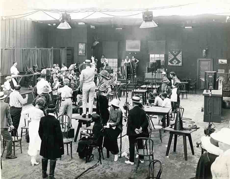 Historic Photo of Hollywood Movie studio photos