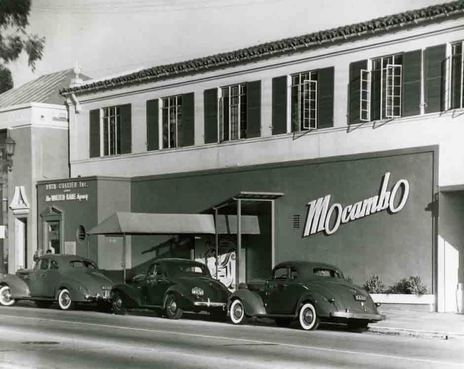 Historic photo of Mocambo nightclub