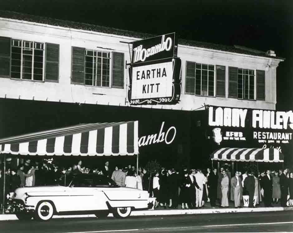 Vintage photo of Mocambo nightclub