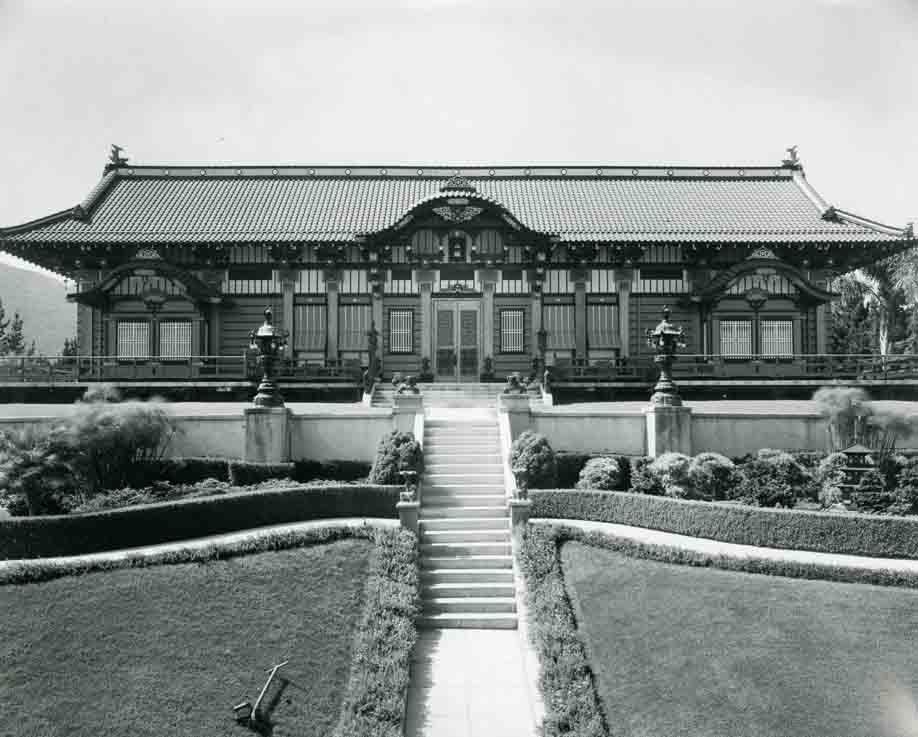 1918 Exterior of Yamashiro Hollywood