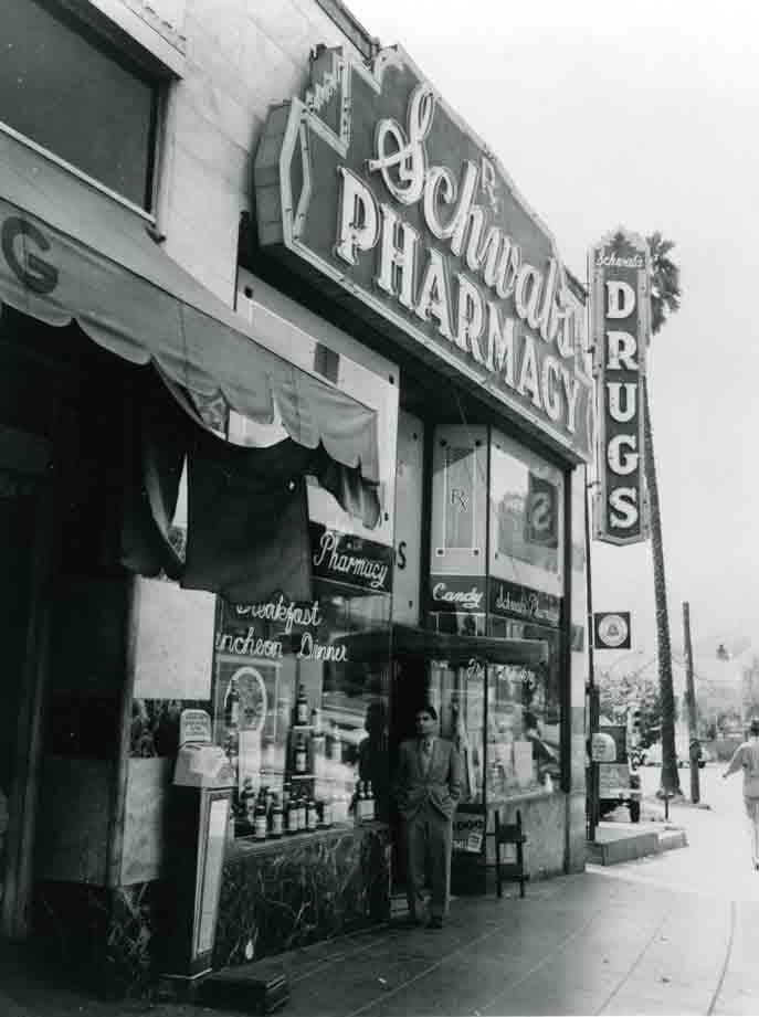 Exterior photo of Schwab's Pharmacy