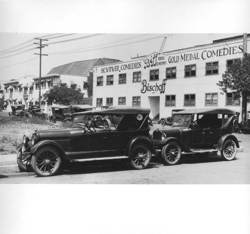 Vintage photo of California Studios