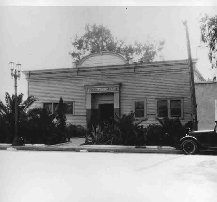 Historic photo of Century Studio in Hollywood