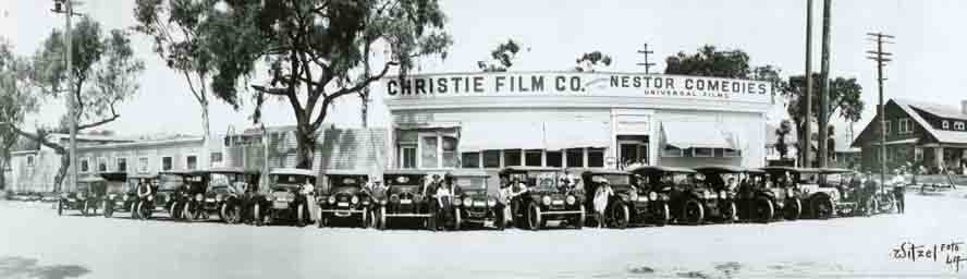 Photo of Hollywood's First movie studio