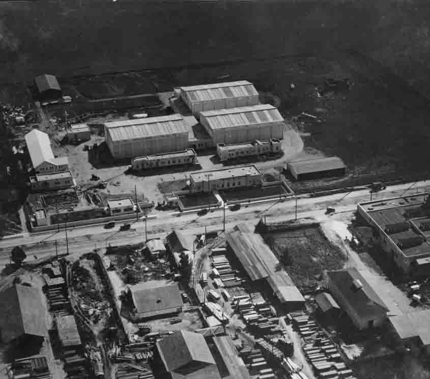 Vintage photo of Jesse Hampton Hollywood movie studio