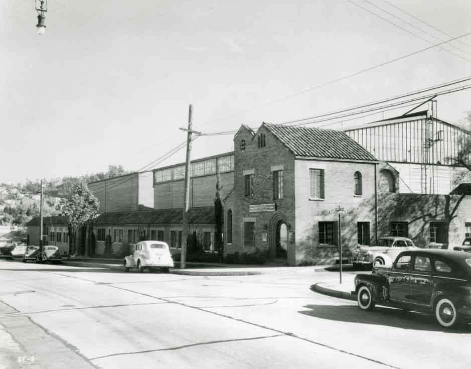 vintage photo of Monogram Studios