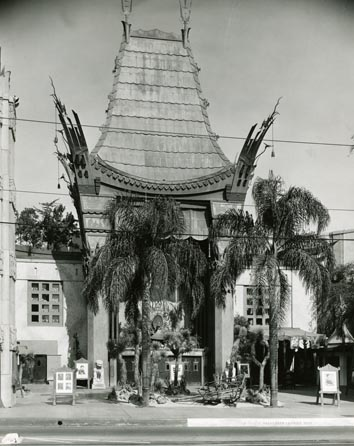 Vintage photo of Grumman's Chinese Theater