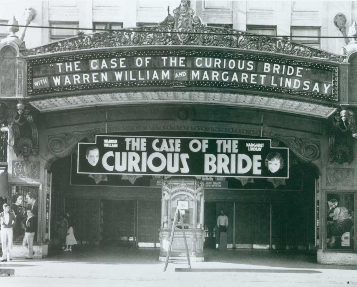 Early Hollywood theater photo