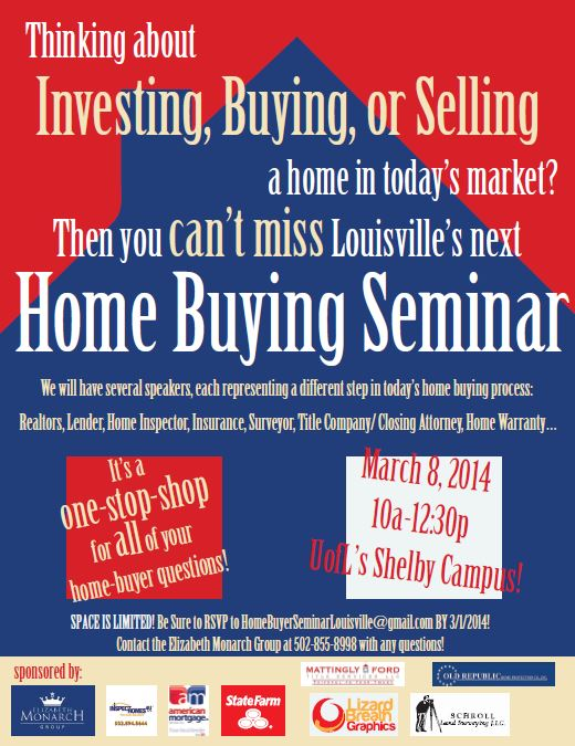 Home Buyer Seminar March 8, 2014