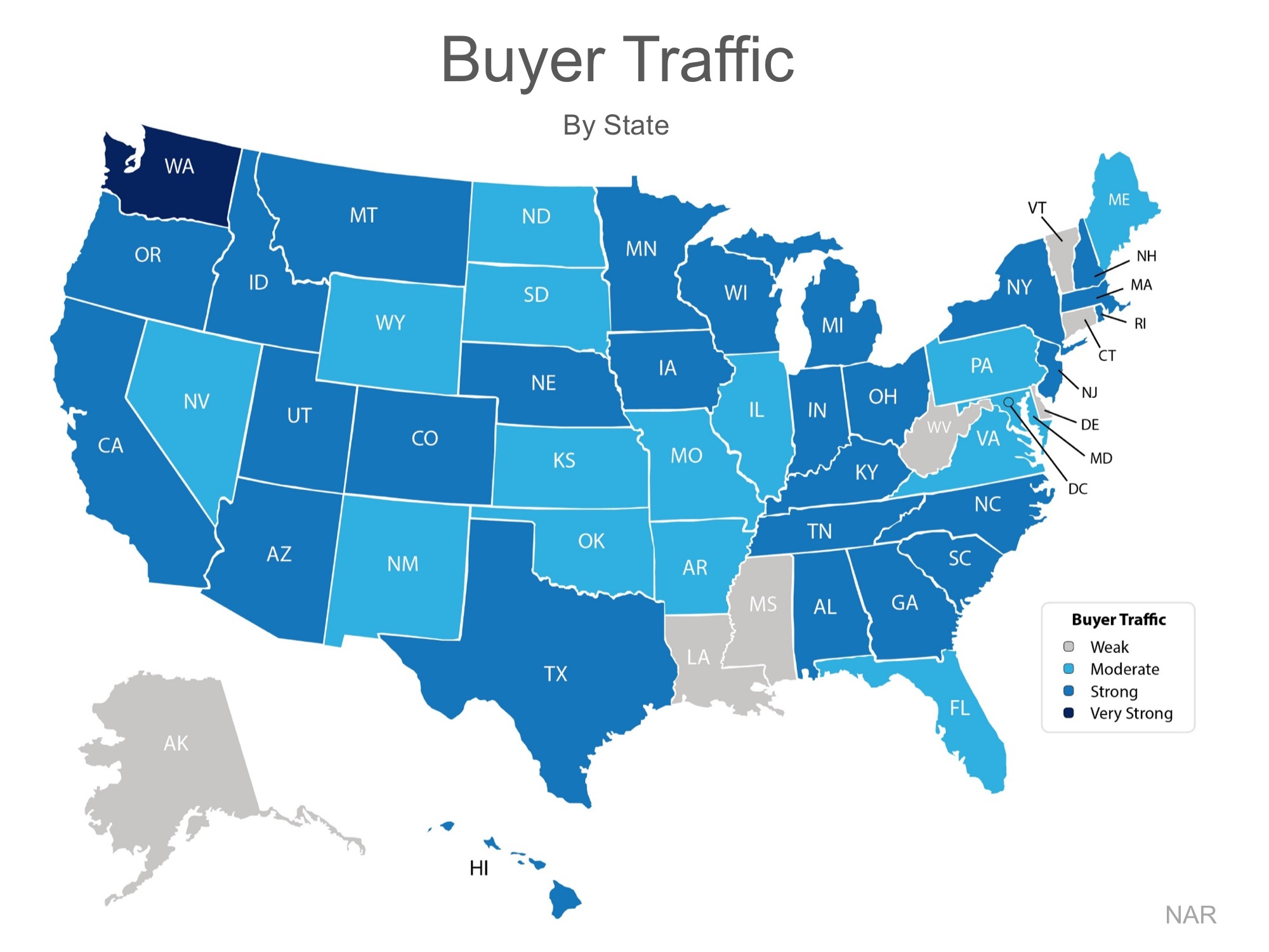 buyer traffic per state jan 2017