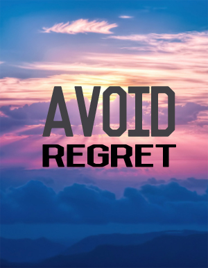 Avoid Regret with a home purchase