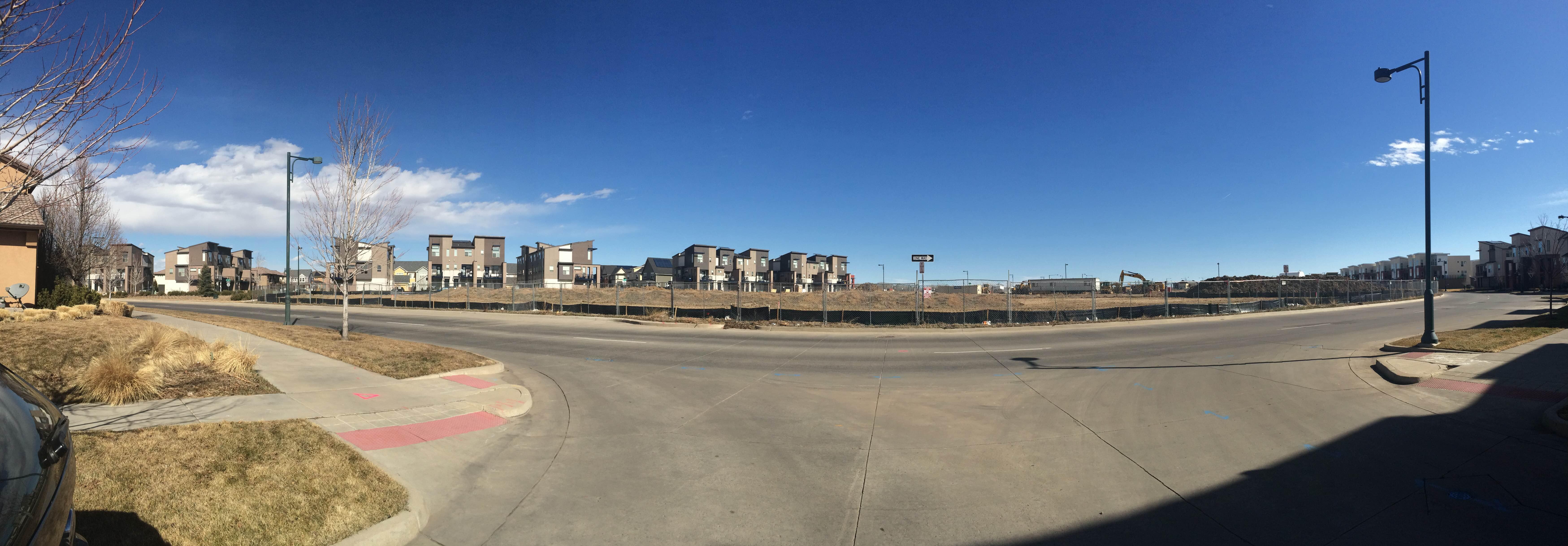 East Bridge Town Center Progress