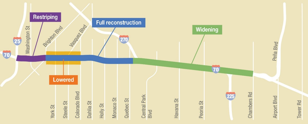 I-70 Construction Overview