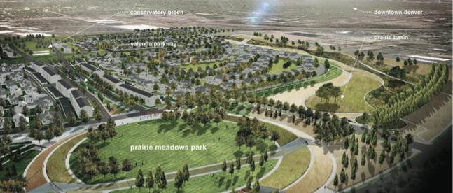 Prairie Meadow Park in Willow Park East Stapleton