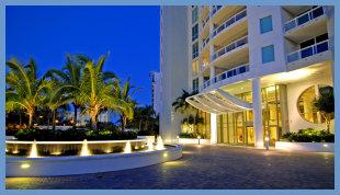 Luxuries Downtown Sarasota condos on the Bay