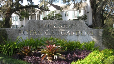 Entrance Sign at Selby Gardens