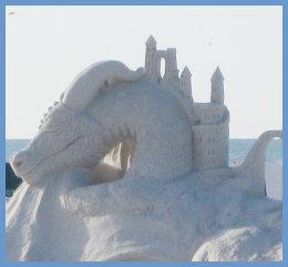 Sand Sculpture on Siesta Key