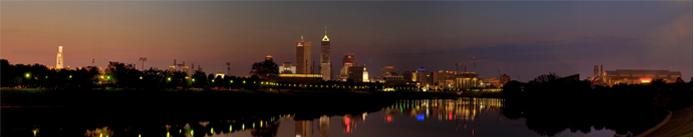 Indianpolis Skyline