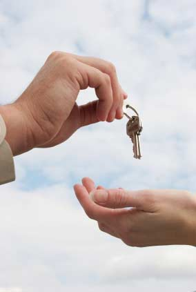 Escrow - handing over the keys
