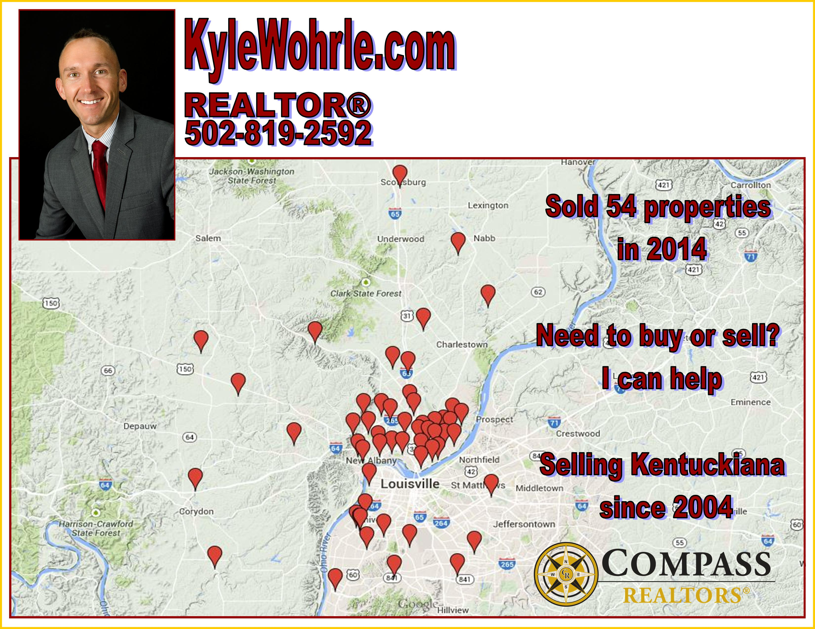 Kyle Wohrle 2014 Sales Map