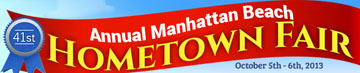 Manhattan Beanch's Hometown Fair Banner