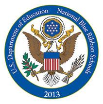 National Blue Ribbon School Emblem