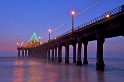 Manhattan Beach Annual Pier Lighting