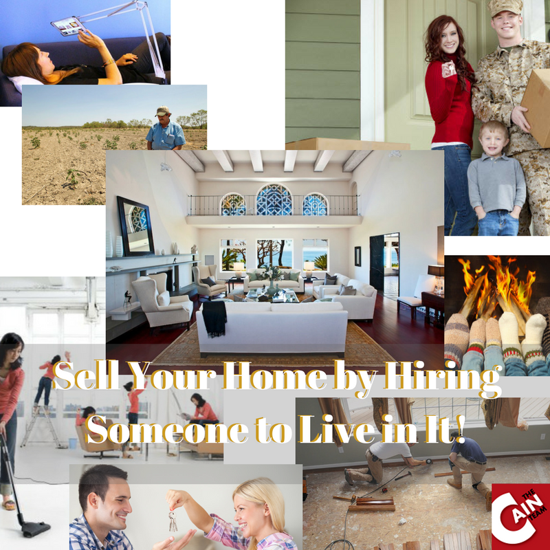 Sell Your Home by Letting Someone Live in It
