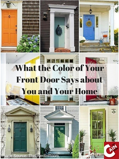 What The Color Of Your Front Door Says About You And Your Home