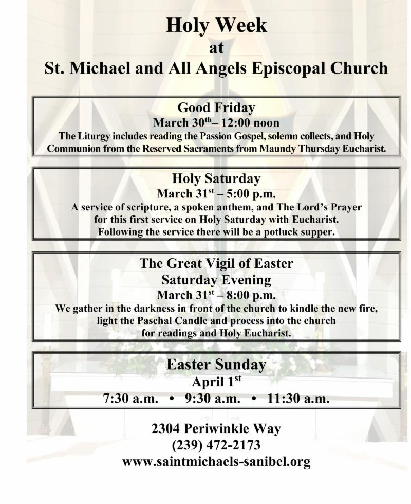 St. Michaels Easter