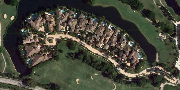 Mizner Lake Estates Arial