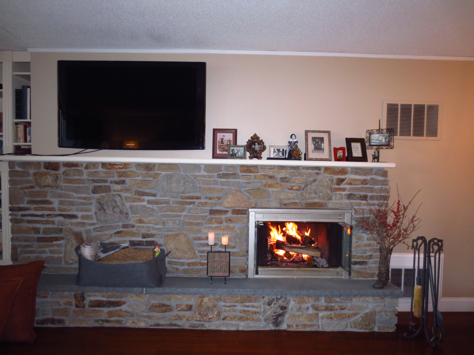 Convent Mews in Morristown NJ Fireplace Updated