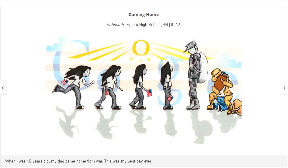 Doodle 4 Google 2013 Winner