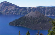 Crater Lakes area
