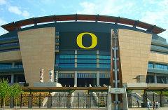 The Unversity of Oregon Stadium