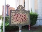 Shelby County Sign