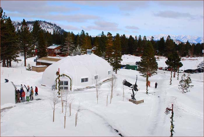 Eagle Express at Little Eagle During a Normal Snow Year