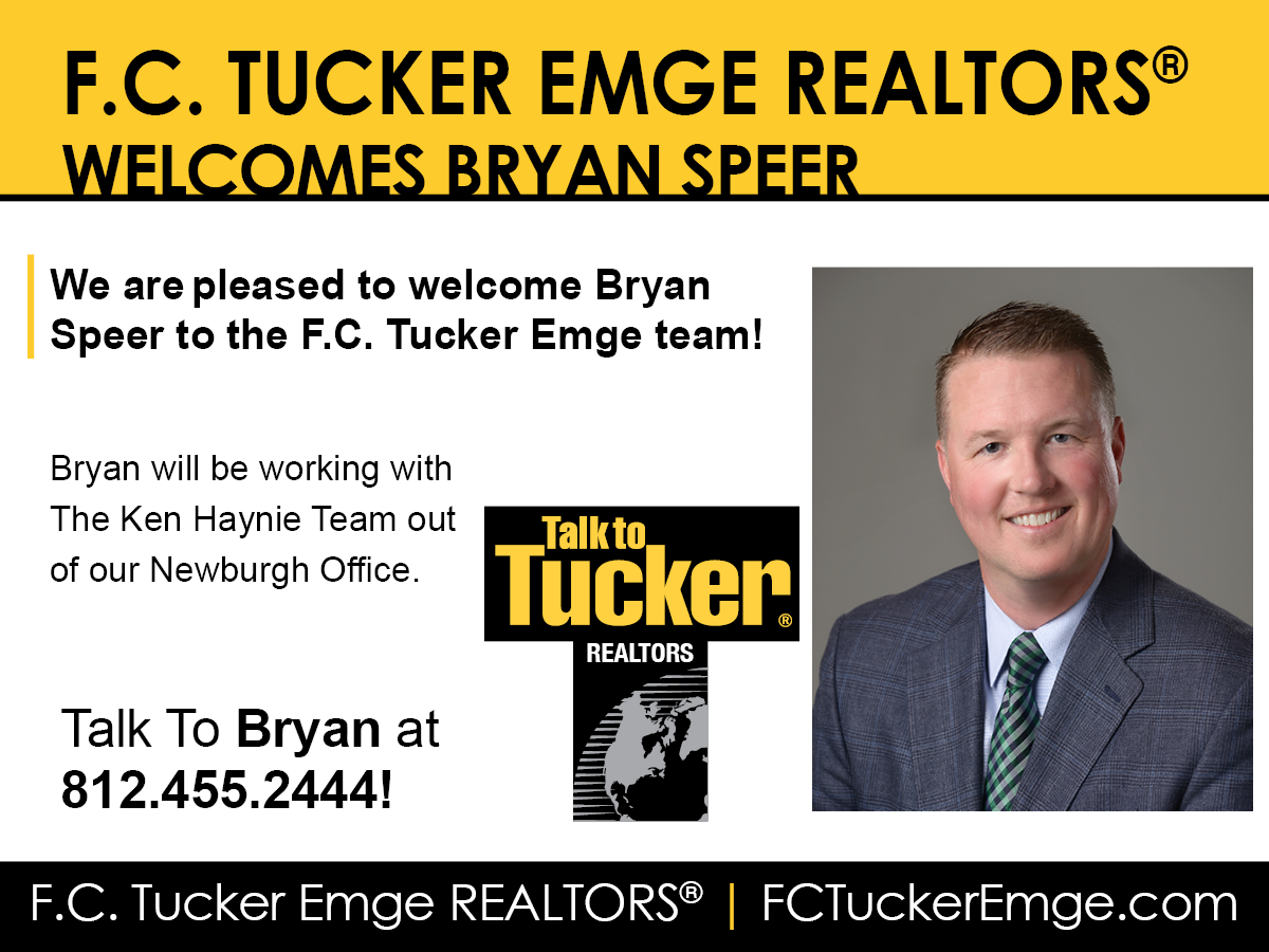 Welcome Bryan Speer to F.C. Tucker Emge REALTORS®!