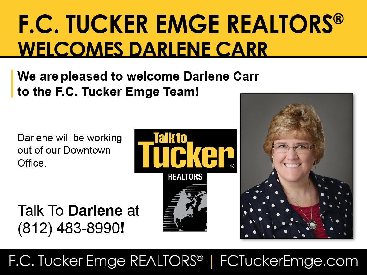 Welcome Darlene Carr to F.C. Tucker Emge REALTORS®!