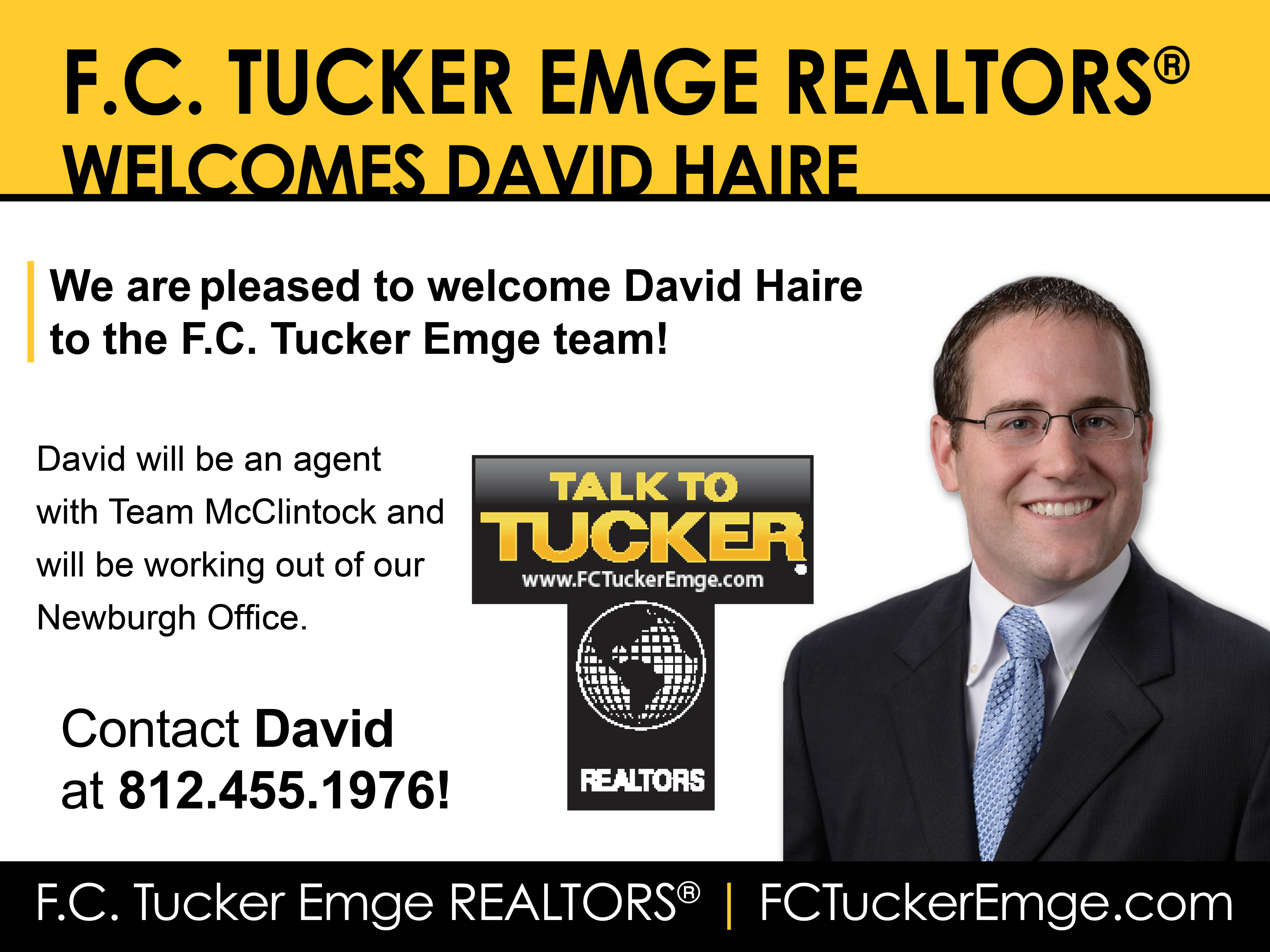 David Haire New Agent