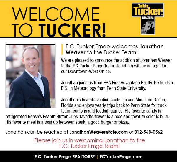 Please Welcome Jonathan Weaver to the F.C. Tucker Emge Team!
