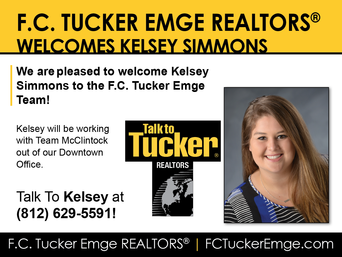 Welcome Kelsey Simmons to F.C. Tucker Emge REALTORS®!
