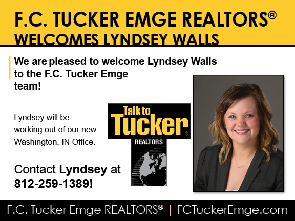 Welcome Lyndsey Walls to F.C. Tucker Emge REALTORS®!